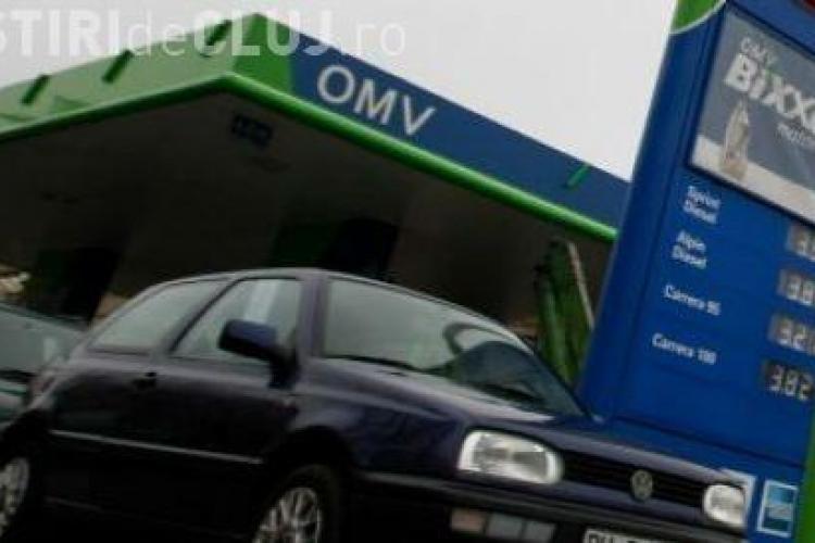 Benzina OMV Petrom este mai scumpa cu sase bani pe litru!