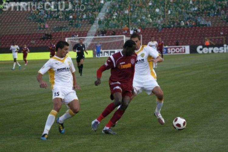 CFR Cluj invinge cu un scor de maidan Brasovul, 4-0! Traore s-a razbunat, dar Peralta a ratat un penalty - REZUMAT VIDEO