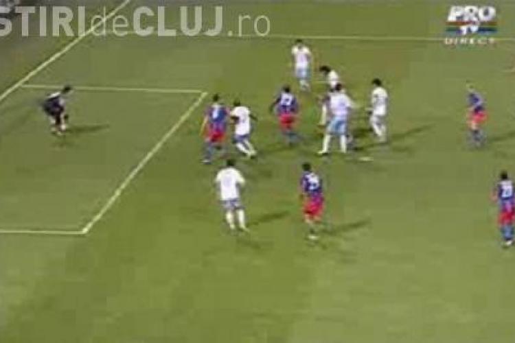 Gol Cavani in minutul 97 - Steaua - Napoli 3-3 / VIDEO