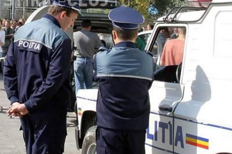 Angela Merkel, pazita la Cluj de 70 de politisti, jandarmi si politisti comunitari!