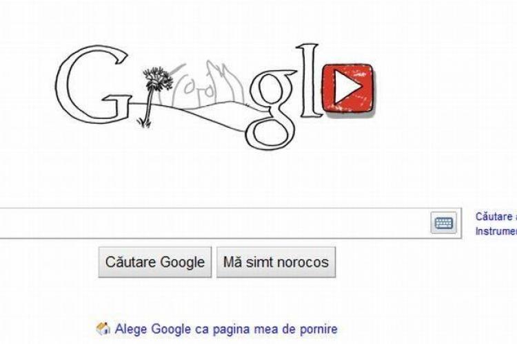 John Lennon este pe logo-ul Google si YouTube, la 70 de ani de la nasterea artistului