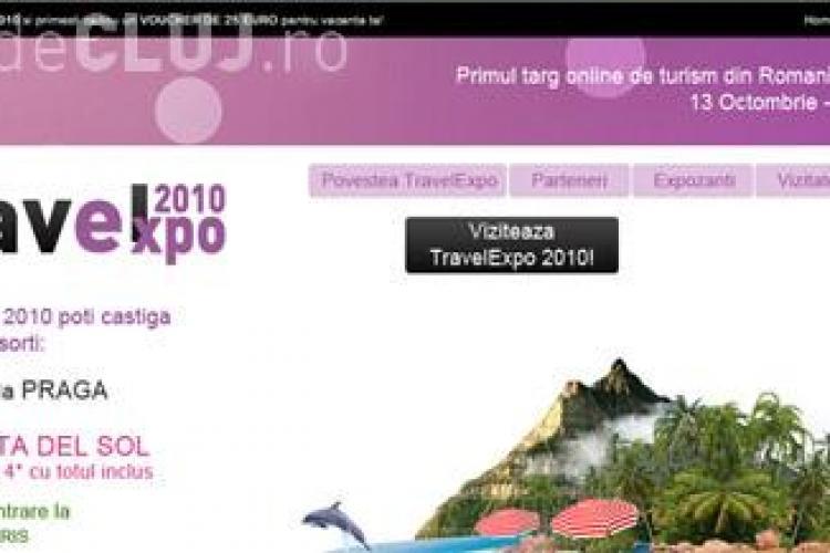 Viziteaza primul targ de turism exclusiv on-line TravelExpo 2010 si poti castiga o vacanta de vis la Viena, Praga, Disneyland sau in Spania