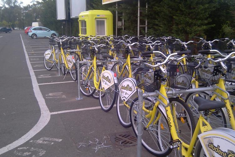 """Proiectul """"Student O Bike"""" s-a lansat la Cluj Napoca"""
