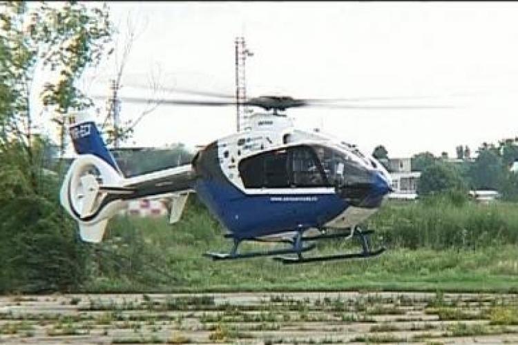 Un elicopter tip TAXI s-a prabusit in Delta Dunarii. Intre pasageri era unul dintre actionarii Murfatlar