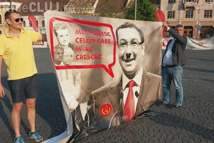 Clujenii sunt chemați la protest ANTI - PONTA: Se cere demisia - PARTICIPI?
