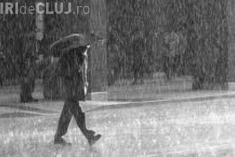 PROGNOZA METEO CLUJ! Se întorc ploile