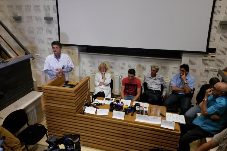 Detalii din cazul bebelușului mort la Cluj! Prof. Ciuce NU a fost lăsat să opereze pentru că nu are specializare. Managerul Șușcă nu are SUFLET