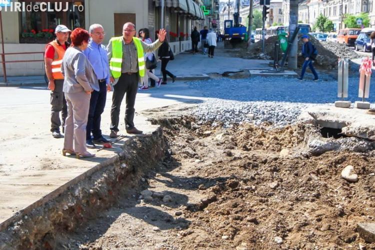 Emil Boc cere ca strada Horea să fie gata în 15 iulie