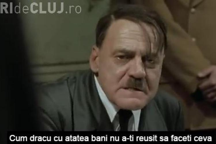 Parodie cu Hitler pe tema NOROIULUI de la Electric Castle Cluj - VIDEO