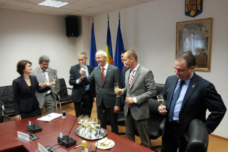 Patronul firmei Henschel GmbH a explicat de ce INVESTEȘTE la Cluj. Câte locuri de muncă vor apărea la Jucu