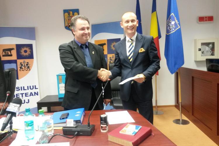 Mihai Seplecan, ALES președinte al Consiliului Județean Cluj