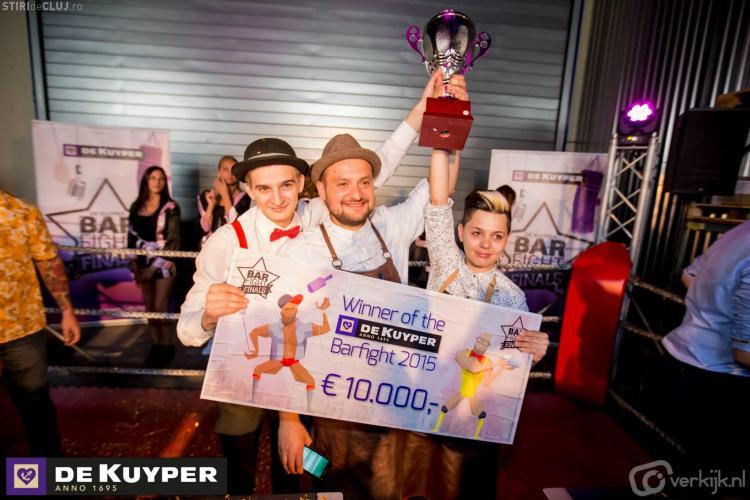Trei barmani din Cluj sunt cei mai buni din lume
