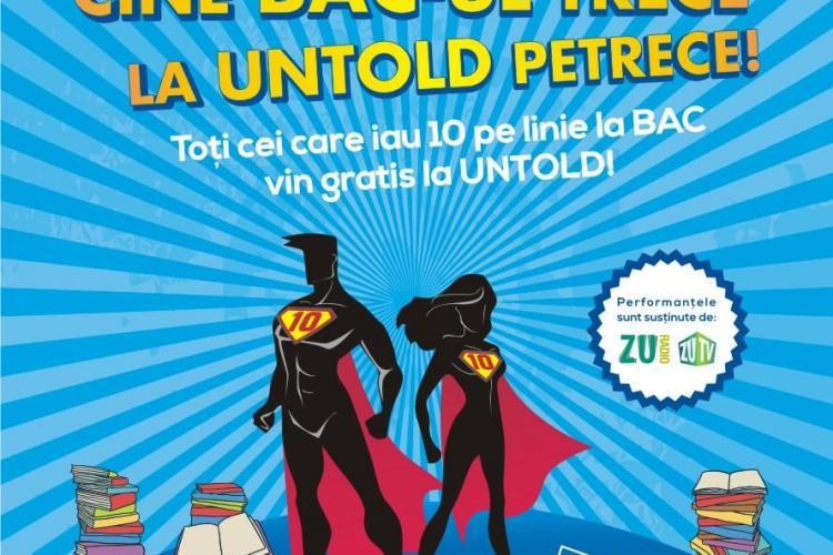 UNTOLD Festival îi premiază pe elevii cu rezultate bune la BAC. Sunt vizați elevii din toată țara