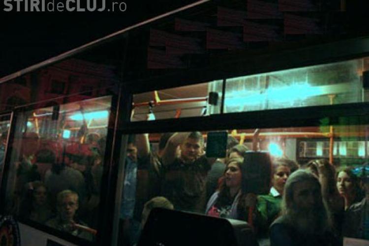 Cluj Never Sleeps 2015: Transport de noapte pentru clujeni