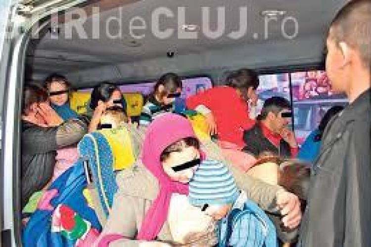 Cluj: 60 de copii de grădiniță au fost înghesuiți într-un autocar