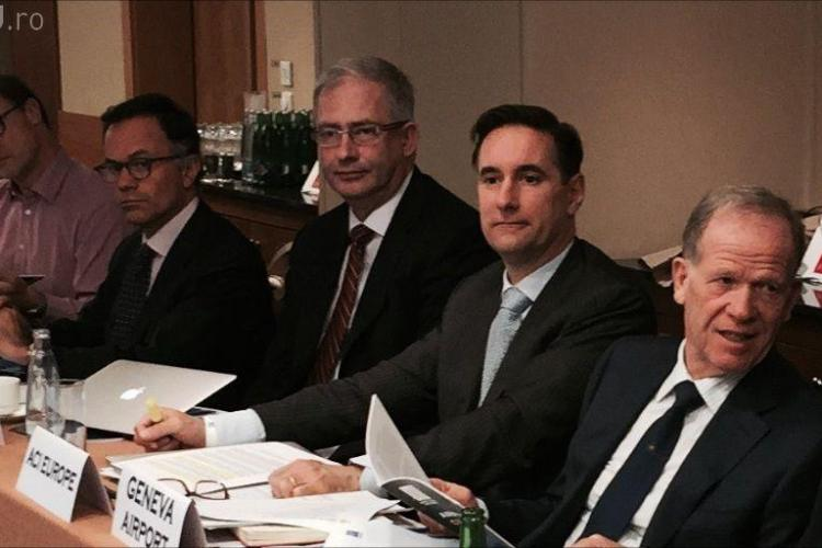 Directorul Aeroportului Cluj a participat la ședința Consiliului Director al Airports Council International