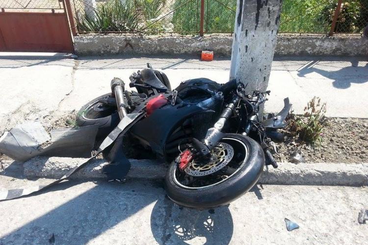 Un motociclist a murit la Iclod. E INEXPLICABIL ce a vrut să facă - VIDEO