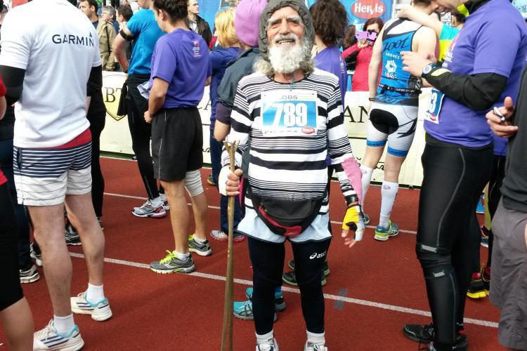 A murit MOȘION GHEORGHE, cel mai vârstnic maratonist din România. La 82 de ani nu l-a răpus boala