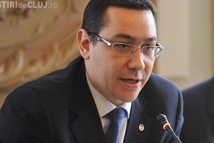 Ponta va fi externat, dar își ia concediu 28 de zile. Pe cine a propus în locul său