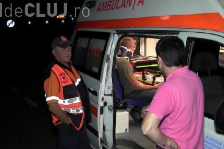 Accident cu o victimă pe un drum din Cluj. Șoferul dă vina pe un tirist VIDEO