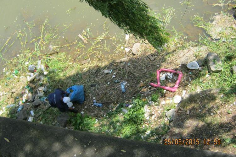 Peste 90 de tone de deșeuri strânse de pe Albia Someșului Mic. Pescarii s-au apucat de făcut curățenie FOTO
