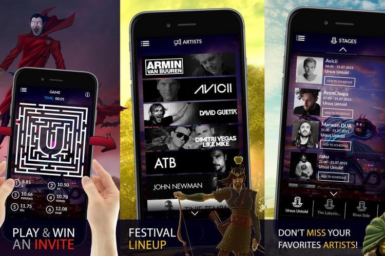Tehnologii de ultimă generație la UNTOLD Festival. Aplicație specială pentru mobil și internet gratuit