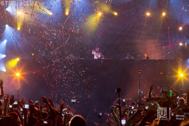 UNTOLD FESTIVAL: 45.000 de oameni la AVICII. DJ -ul a fost totuși ENERVANT - VIDEO