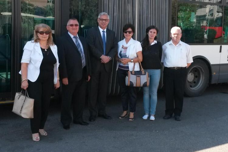 Ambasadorul Elveției a lăudat Compania de Transport Public Cluj