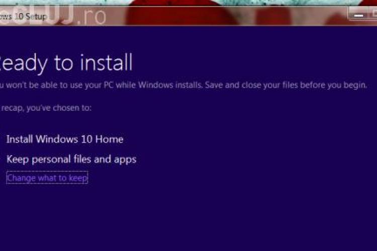 Astăzi se lansează Windows 10. Cât de simplu se instalează