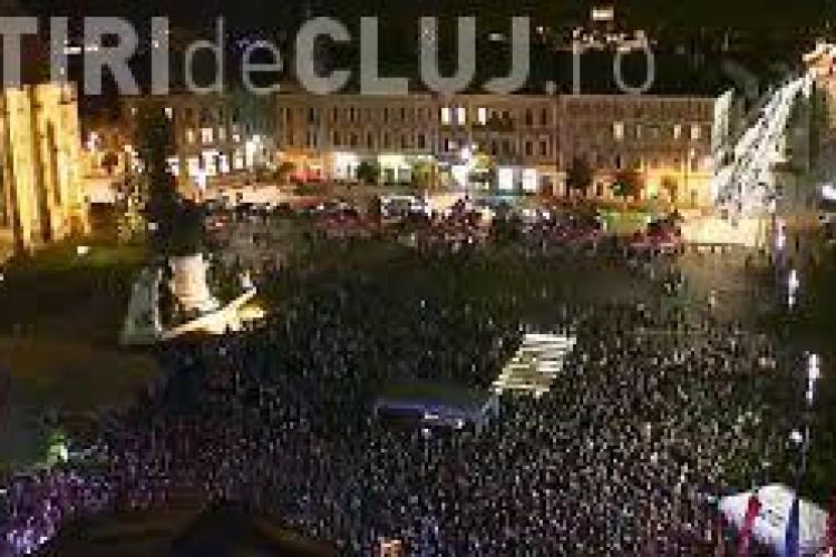 Clujenii nu mai vor evenimente subculturale în Piața Unirii
