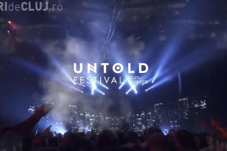UNTOLD Festival începe azi. Vezi programul din prima zi