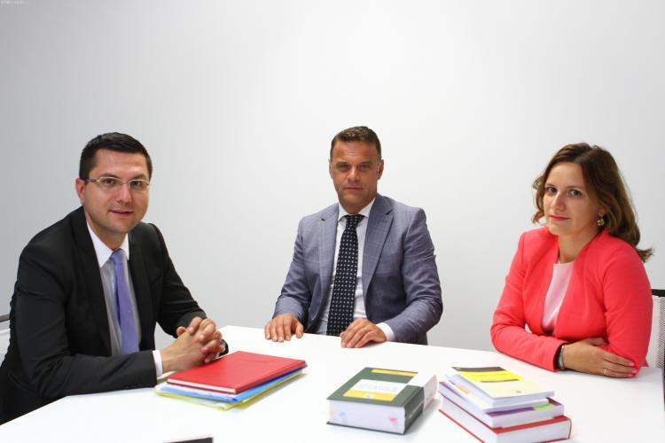 Un fost primar al Clujului a fost recrutat de o importantă casă de avocatură - FOTO