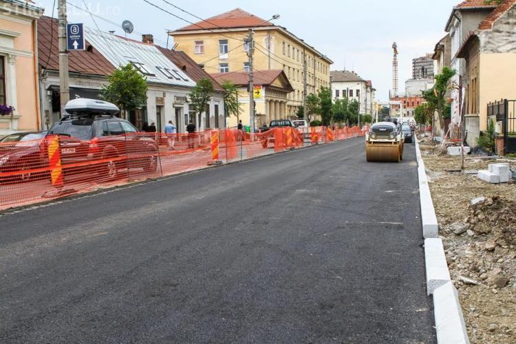 Strada Avram Iancu va fi finalizată în 15 august. Ce înseamnă FINALIZATĂ? - FOTO