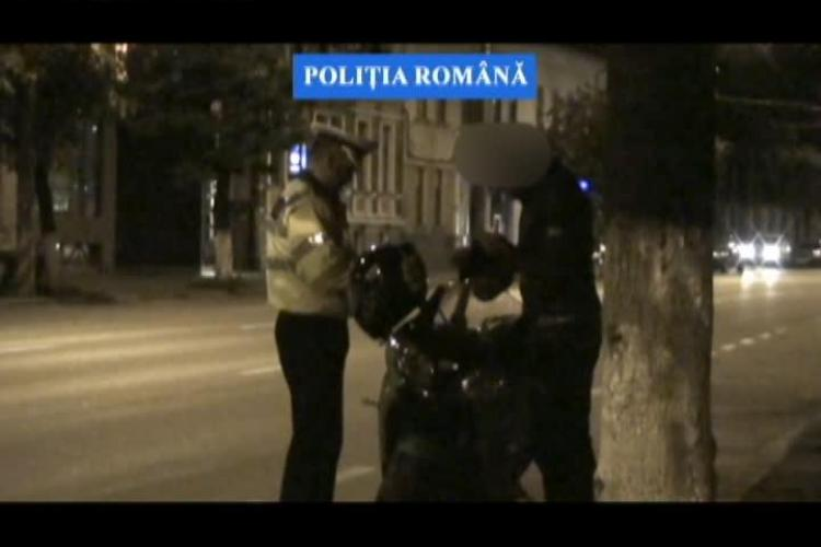 """Razie pe Dorobanților! Polițiștii au ieșit să îi prindă pe """"piloții"""" de curse ilegale VIDEO"""