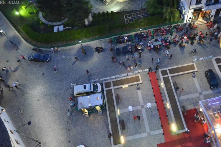 Cum poți câștiga o urcare pe platforma ce va fi ridicată deasupra Clujului
