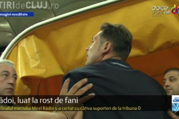 Reacția nervoasă a lui Rădoi, după egalul cu CFR Cluj. Ce i-a zis unui suporter care l-a luat la rost