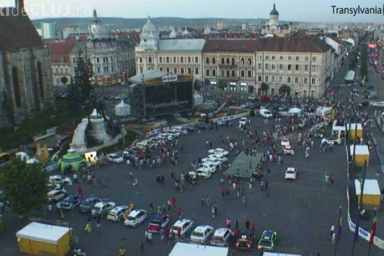 Transilvania Rally a luat startul la Cluj. Ce restricții de circulație s-au impus
