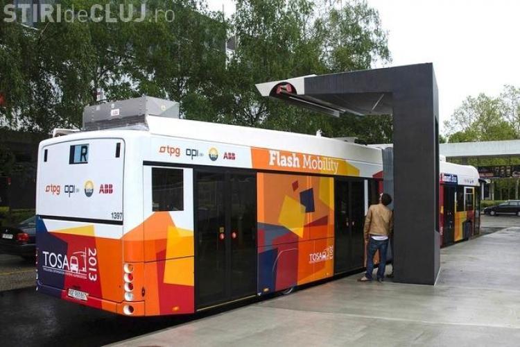 Autobuze ELECTRICE la Cluj. S-a DECIS când vor fi cumpărate. Vor fi FUTURISTE