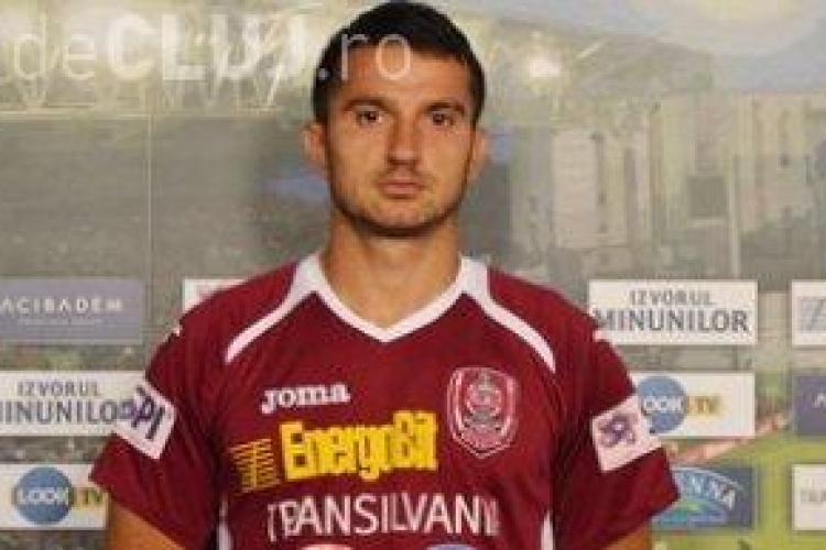 Voiculeț a făcut pace cu CFR Cluj. Vrea să redevină titular