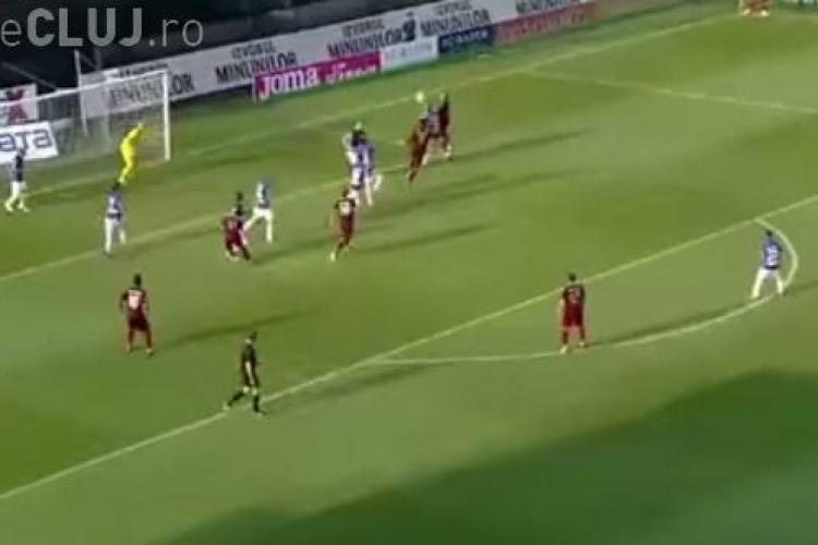 Prima victorie pentru CFR Cluj în noul sezon al Ligii I. I-au bătut pe cei de la Poli Timișoara REZUMAT VIDEO