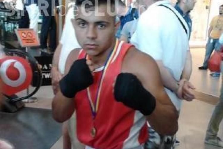 Boxerul clujean Alexandru Macingo a evadat din centrul de detenție de la Buzias