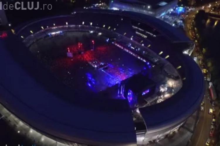 UNTOLD Festival, văzut de la înălțime. Vezi aici filmare cu drona VIDEO