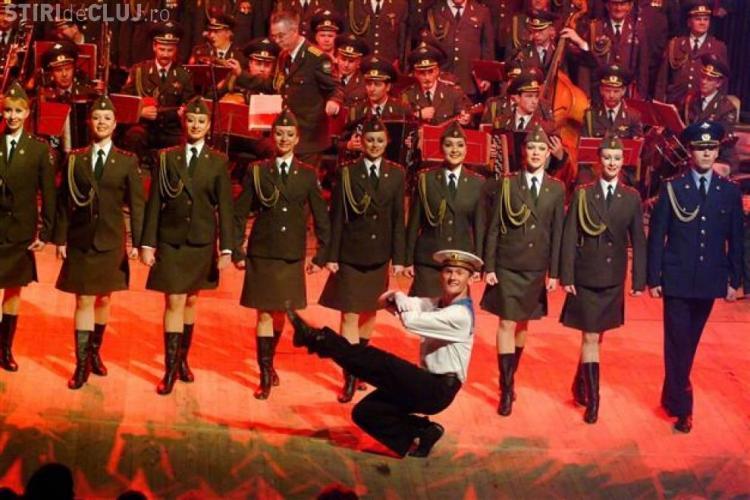 Corul Armatei Roșii are spectacol la Sala Polivalenta din Cluj. Invitat este baritonul Florin Estefan