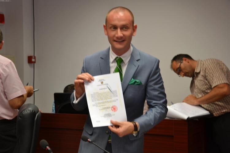 Mihai Seplecan și-a depus candidatura la Primăria Cluj-Napoca. Ce face Emil Boc