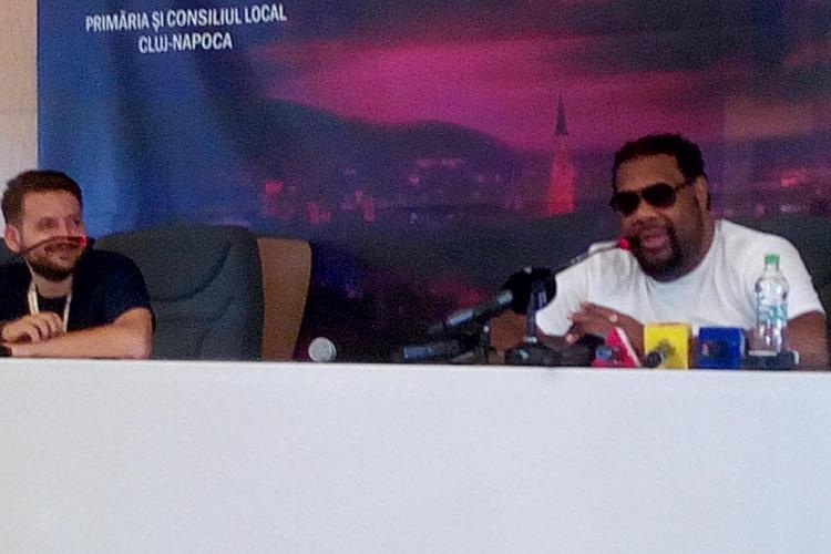 Celebrul Fatman Scoop e gazda UNTOLD Festival. Care  a fost prima experiență a artistului la Cluj