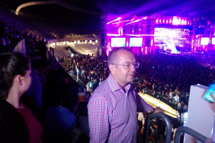 Boc a venit cu toată familia la concertul lui Avicii: E unul dintre favoriții pe care îi am la suflet FOTO