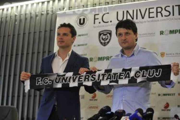 """Falub pleacă de la """"U"""" Cluj. Va antrena în Emiratele Arabe"""