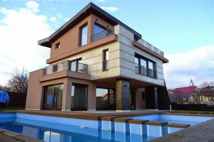 Cum arată cea mai scumpă vilă cu PISCINĂ din Cluj. Prețul e ASTRONOMIC - FOTO