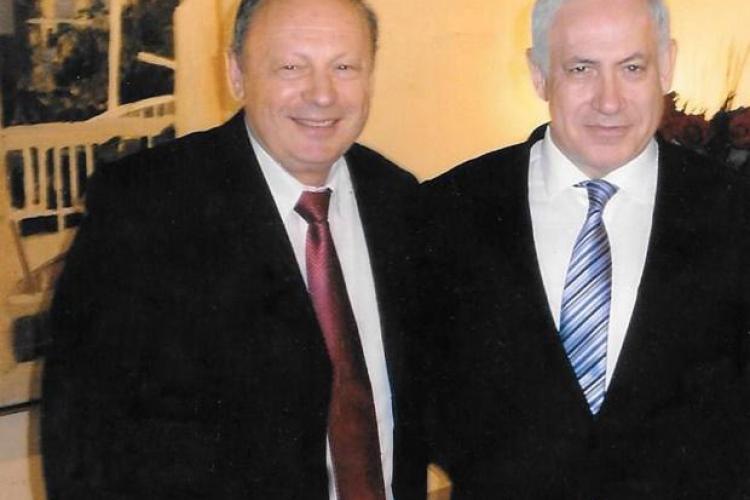 """Un clujean prin """"adopție"""" este MEDICUL personal al premierului Israelului - FOTO"""