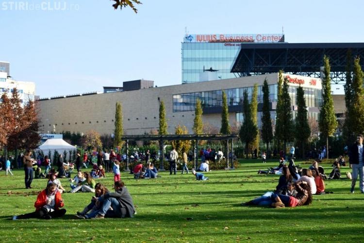"""Demonstrație sportivă """"Green Body & Mind"""", în acest weekend, în Iulius Parc. Clujenii sunt invitați să-și """"încarce bateriile"""""""
